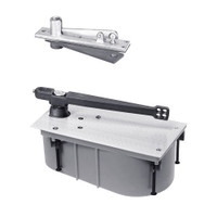 SC28-90S-CWF-LH-625 Rixson 28 Series Heavy Duty Single Acting Center Hung Floor Closer in Bright Chrome Finish