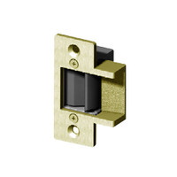 014-24DC Trine Light Commercial ANSI 01 Series Electric Strikes in Brass Powder Finish