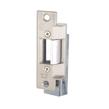 012C-24AC Trine Light Commercial ANSI 01 Series Electric Strikes in Satin Chrome Finish