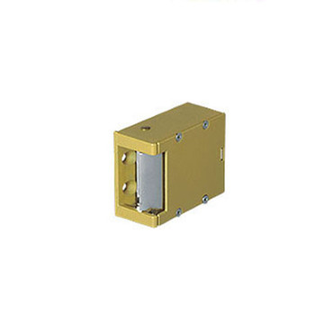 006-24DC Trine Light Commercial Electric Strikes in Brass Powder Finish