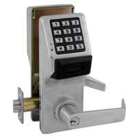 PDL5300-US26D Alarm Lock Trilogy Electronic Digital Lock in Satin Chrome Finish