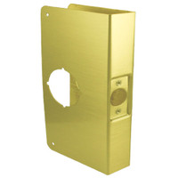 1-PB-CW Don Jo Classic Wrap Around Plate in Polished Brass Finish