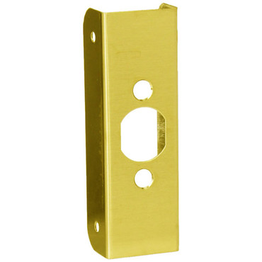 10-PB-FE Don Jo Blank Wrap-Around Plate in Polished Brass Finish