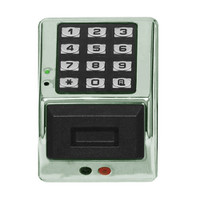 PDK3000-26D Alarm Lock Trilogy Electronic Narrow Style Digital Lock in Satin Chrome Finish