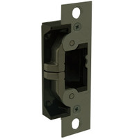 7440-313 Adams Rite UltraLine Electric Strike for steel and wood jambs and doors in Dark Bronze Anodized Finish