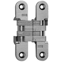 216-US26D Soss Invisible Hinge in Satin Chrome Finish