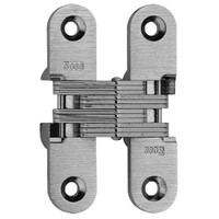 208-US26D Soss Invisible Hinge in Satin Chrome Finish