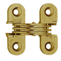 103C-US4 Soss Invisible Hinge in Satin Brass Finish