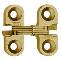 100C-US4 Soss Invisible Hinge in Satin Brass Finish