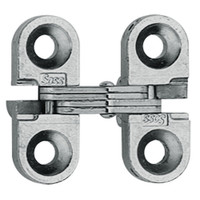 100C-US26D Soss Invisible Hinge in Satin Chrome Finish