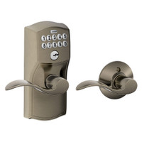 FE575-CAM-620-ACC Schlage Electrical Keypad Entry Auto-Lock in Antique Pewter