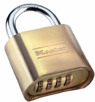 Master Lock 175 Padlock with Resettable Combinations