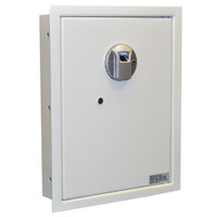 Protex FW-1814Z Wall Safe with Fingerprint Lock