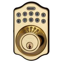 LS-DB500-PB LockState Electronic Keypad Deadbolt in Polished Brass