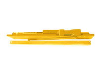 2035-BUMPER-LH-BRASS LCN Door Closer Standard Track with Bumper Arm in Brass Finish
