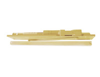 2035-STD-RH-US4 LCN Door Closer with Standard Arm in Satin Brass Finish