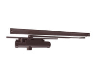 3133-H-LH-DKBRZ LCN Door Closer with Hold Open Arm in Dark Bronze Finish