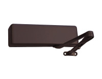 4021-H-RH-DKBRZ LCN Door Closer with Hold Open Arm in Dark Bronze Finish