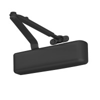 4031-REG-BLACK LCN Door Closer with Regular Arm in Black Finish