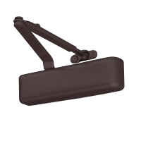 4031-Rw-62A-DKBRZ LCN Door Closer Regular Arm with Auxiliary Parallel Arm Shoe in Dark Bronze Finish
