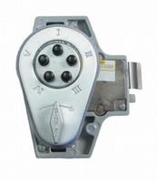 9190000-26D-41 Simplex Keyless Spring Latch Lock in Satin Chrome finish