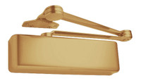4040XP-SCUSH-US4 LCN Door Closer with Spring Cush Arm in Satin Brass Finish