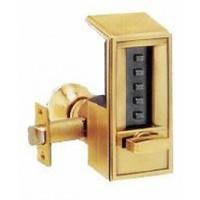 6204-60-41 Simplex mechanical push button Lock in Gold Tone