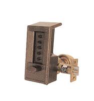 6204-85-41 Simplex mechanical push button Lock in Black