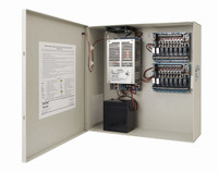 AQU128-16C16R Securitron AccuPower Switching Power Supply Access control with 16 Fire Relays