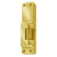 6114-12VDC-US3 Von Duprin Electric Strike in Bright Brass Finish