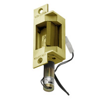 6211-12VDC-US4 Von Duprin Electric Strike in Satin Brass Finish