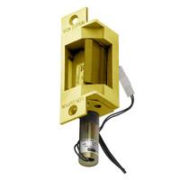 6211-FS-DS-LC-12VDC-US3 Von Duprin Electric Strike in Bright Brass Finish