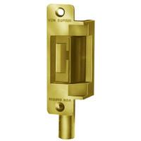 6211AL-FS-24VDC-US3 Von Duprin Electric Strike in Bright Brass Finish