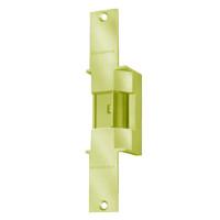 6225-12VDC-US3 Von Duprin Electric Strike in Bright Brass Finish