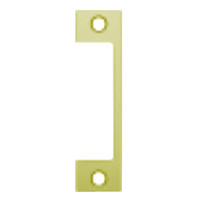 """HTD-605 Hes 4-7/8"""" x 1-1/4"""" Faceplate in Bright Brass Finish"""