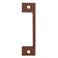 "HTD-613 Hes 4-7/8"" x 1-1/4"" Faceplate in Bronze Toned Finish"