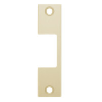 "R-606 Hes 4-7/8"" x 1-1/4"" Faceplate in Satin Brass Finish"