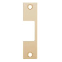 "R-612 Hes 4-7/8"" x 1-1/4"" Faceplate in Satin Bronze Finish"