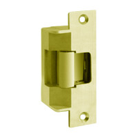 7501-12-605-LBM Hes Electric Strike in Bright Brass Finish