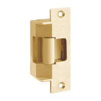 7501-12-606-LBM Hes Electric Strike in Satin Brass Finish