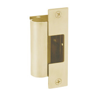 1006-F-606-LBSM Hes Fail Safe Electric Strike Body with Latchbolt Strike Monitor in Satin Brass Finish
