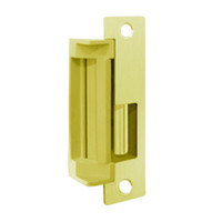 4500C-605-LBSM Hes Electric Strike with Latchbolt strike monitor in Bright Brass Finish