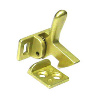 1590-605 Don Jo Elbow Catch in Bright Brass Finish