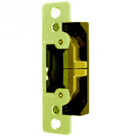 7400-605 Adams Rite UltraLine Electric Strike for Radius Jambs in Bright Brass Finish