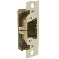 7440-606 Adams Rite UltraLine Electric Strike for steel and wood jambs and doors in Satin Brass Finish