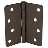 RPB74040-58-640 Don Jo Residential Hinges in Oil Rubbed Bronze Finish