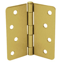 RPB74040-14-633 Don Jo Residential Hinges in Satin Brass Finish