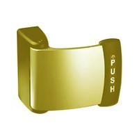 4591M-12-01-US3 Adams Rite Deadlatch Paddle in Bright Brass Finish