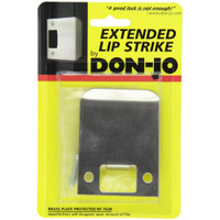 "9125-630 Don Jo 2-1/4"" Extended Lip Strike in Stainless Steel Finish"