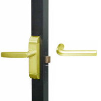 4600M-ME-522-US3 Adams Rite ME Designer Deadlatch handle in Bright Brass Finish